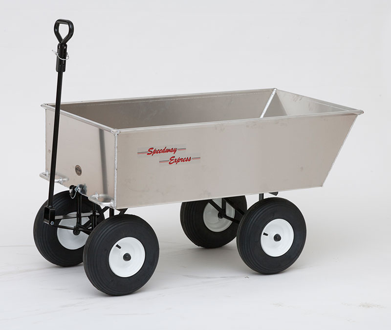 Wheelbarrow wheelbarrow dump cart garden cart for Easy entry cart plans
