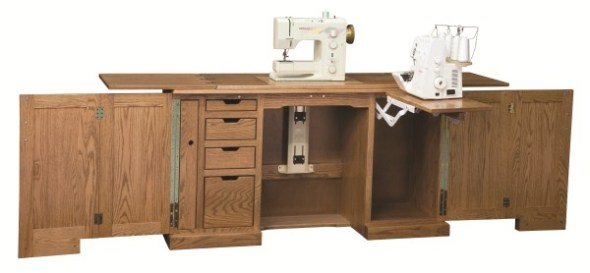 Sewing | Cabinet | Room | Machine | Furniture | Cottage Craftworks ...